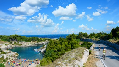 Apulia - On the road along the Salento seaside