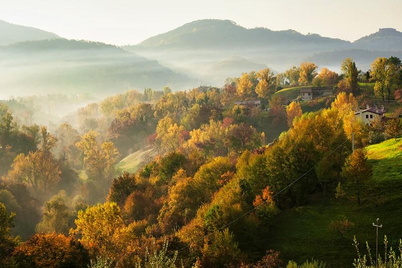 Asolo in autumn