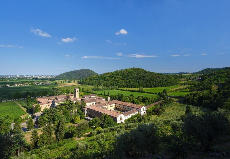 Euganean Hills - Praglia Abbey