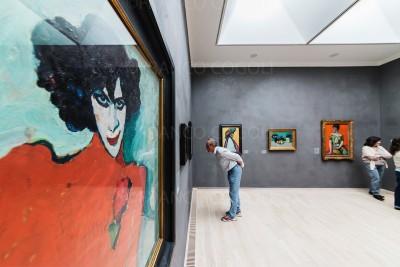 Germany - Kandinskij and the Blue Knight