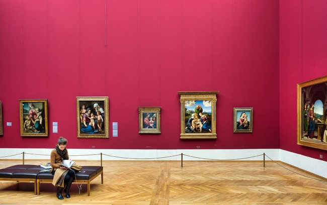 Germany - Munich - Alte Pinakothek museum