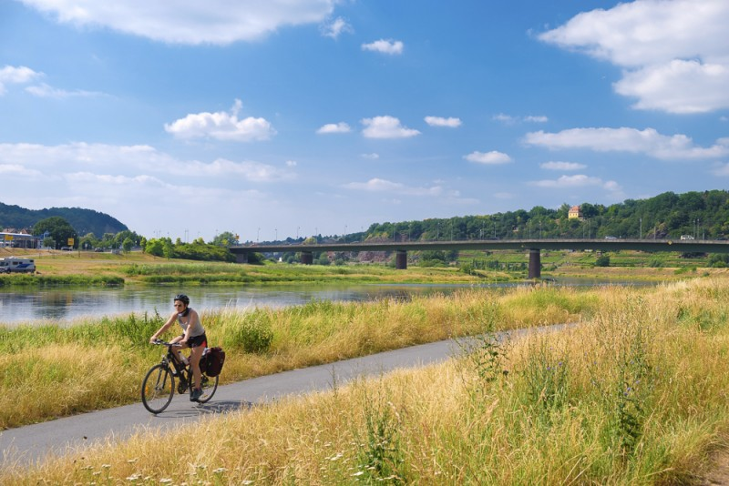Germany - Saxony by bicycle