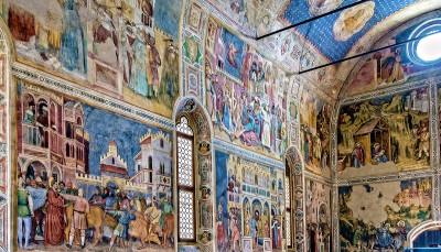 Padua - The San Giorgio oratory