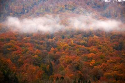 Slovenia - Kobarid and the Soca valley in autumn