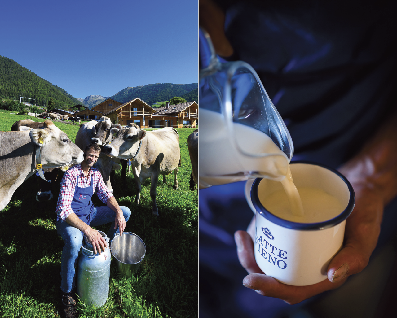 South Tyrolean people and flavors -